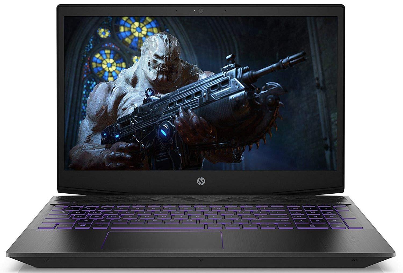 HP Pavilion Gaming 15-cx0140tx FHD Laptop (8th Gen i5-8300H/8GB DDR4/1TB HDD/NVIDIA GTX 1050 4GB Graphics/Win 10/MS Home & Office 2016) Shadow Black