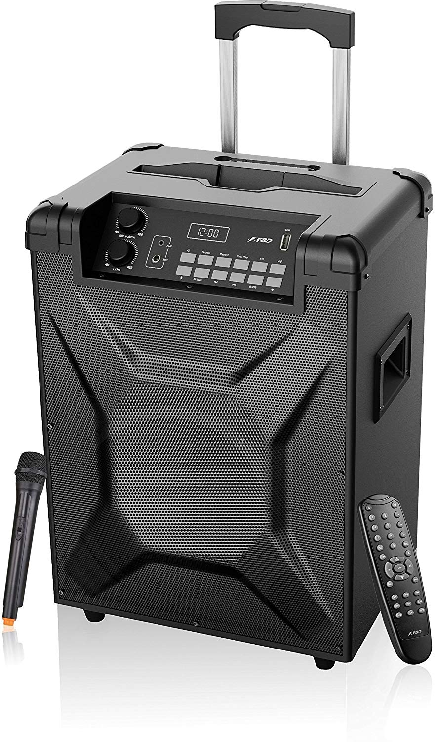 FD T2 Trolley Speaker with Bluetooth (Black)