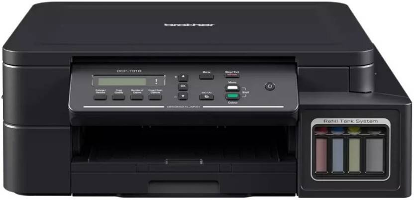Brother DCP-T310 Refill Ink System Multi-function Printer  (Black)