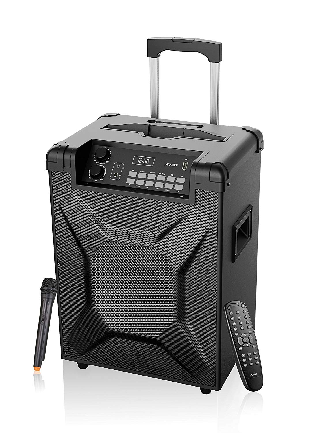 FD T5 Trolley Speaker with Bluetooth (Black)