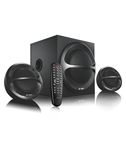FD A111X 2.1 Channel Multimedia Bluetooth Speakers (Black)