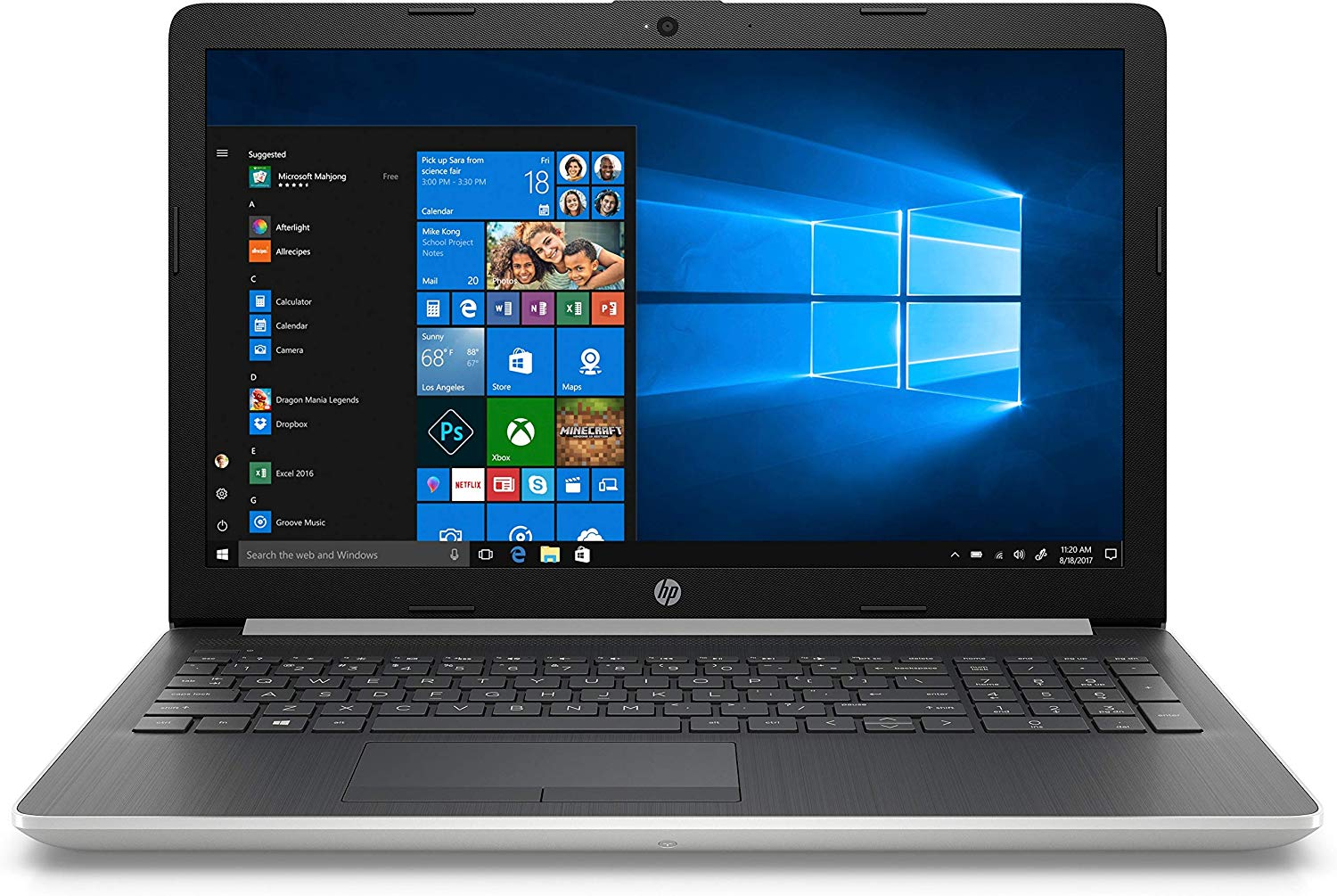 Laptop HP 15-DA0326TU